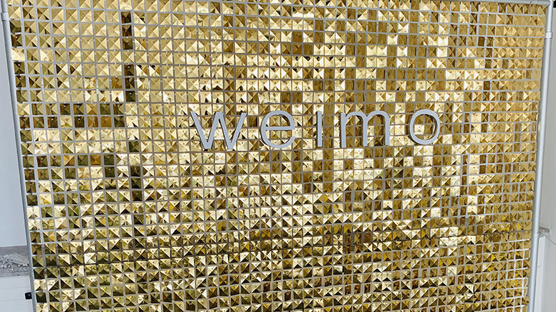 How to create a freestanding backdrop with grid panels from WEIMODECOR