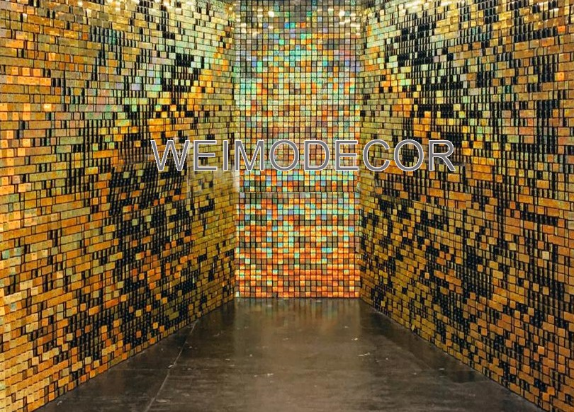 Weimodecor sequin wall