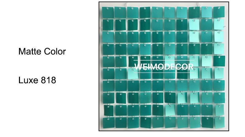Matte Colour For Sequin Backdrop --Luxe818