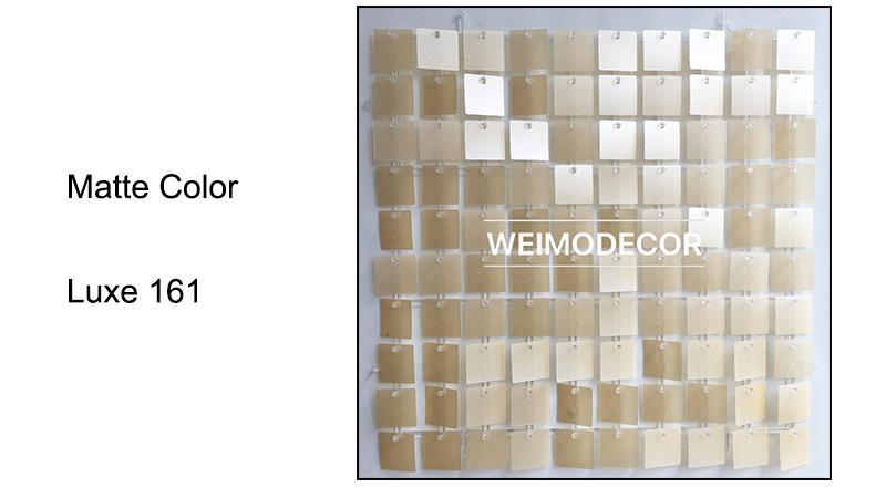 Stunning Matte Colour For Shimmer Panel --Luxe161