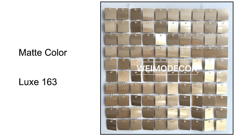 Shimmer Wall Backdrop Matte Colour--Luxe163