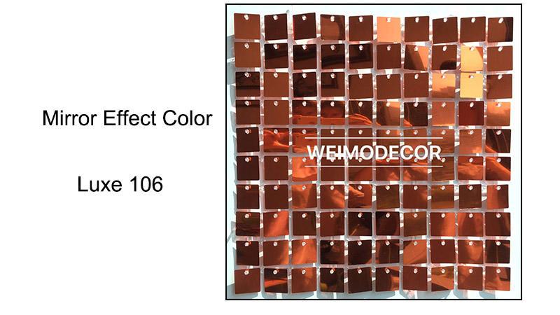 Mirror effect colour--Luxe106