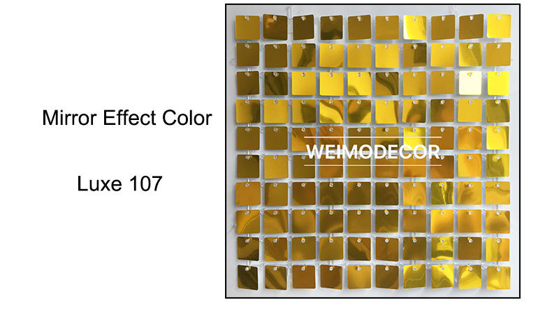 Shimmer Signs Mirror effect colour--Luxe107