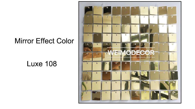 Mirror effect colour--Luxe108