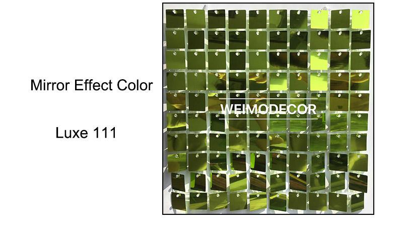 Mirror effect colour--Luxe111