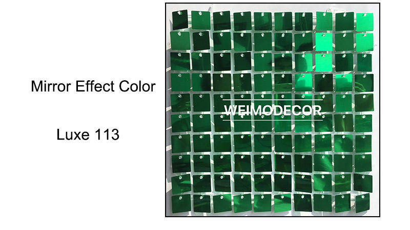 Sequin Panel Mirror effect colour--Luxe113
