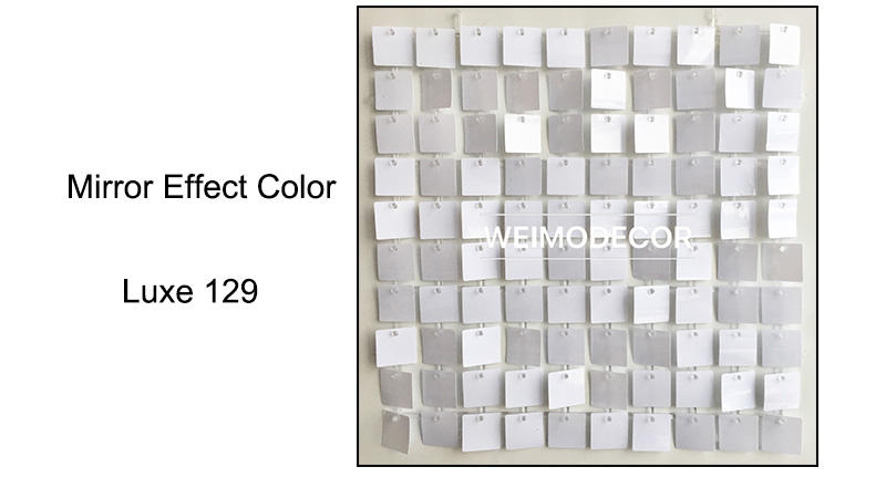 Shimmer Wall Mirror effect colour--Luxe129