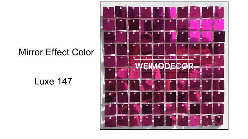 Sequin Wall Tiles Mirror effect colour--Luxe147