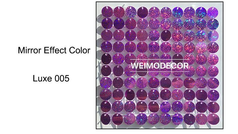 Mirror effect colour--Luxe005